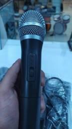 Microfone sem fio duplo VOKAL VWS-20plus