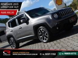 Jeep renegade 2019 longitude automática