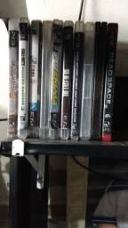 Troco PS3 com 3 controles e um arcade por ps4