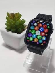 Smartwatch iwo w46 com carregamento indutivo