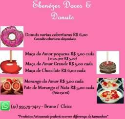 Título do anúncio: Doces e donuts Ebenézer