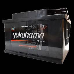 Bateria 60A Yokohama R$ 180.00 Nova.