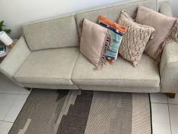 Sofá jacauna semi novo