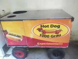 Carro de cachorro quente