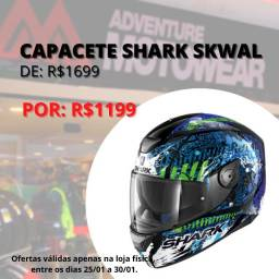 Capacete shark d skwal
