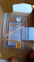 Gaiola pássaro calopsitas 2