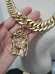 Jóias artesanais de moedas antigas idêntica ouro