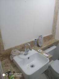 Instalação de pia de Banheiro