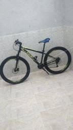 Bike Caloi 21 marchas aro 29 quadro n. 17 freios a disco