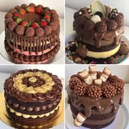 Receitas de bolos e sobremesas