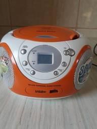 Aparelho de som MP3 e USB
