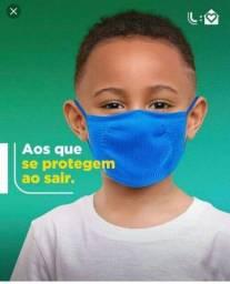 MÁSCARA INFANTIL DA LUPO.