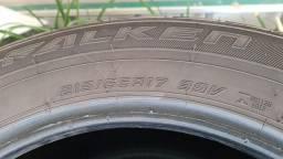 Jogo de pneus Falken SUV aro 17 original da Tiguan