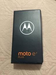 Celular Motorola Moto e7 Plus Novo