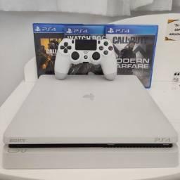 PS4 branco 500gb