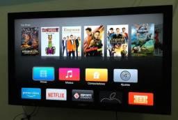 Apple Tv, perfeito estado. Espalhamento do iPad/iphone, netflix, YouTube