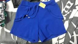 Short feminino 25 R$