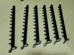 Cabideiro para painel caneletado