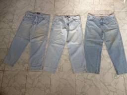 Calças Jeans tamanhos 14-15 anos, 40 e 54 Tudo original de marca Entrego