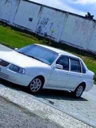 Santana 2004 1.8 completo álcool/GNV troco Chevette/quadrado carro mais antigos - 2004