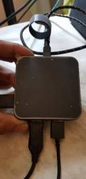 Adaptador para videogame e mouse