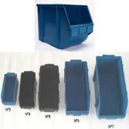 Gaveta Plástica Empilhável Bin Nº8 Azul