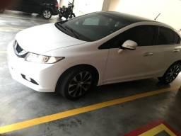 New Civic LXR 2.0 2016, Branco, Único dono, impecável - 2016