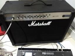 Troco amplificador Marshall MG102CFX