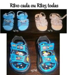 Sandálias infantis masc
