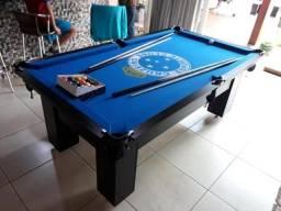 Mesa de Bilhar Personalizada Cruzeiro 2,20 x 1,20