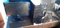 Computador +Monitor  Lg VGA 15 polegadas.
