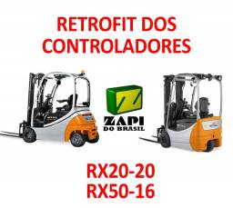 Retrofit controladores Still RX20-20 e RX50-16