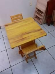 Mesa De madeira de jaca infantil