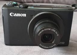 Canon Powershot S110 + Carregador + 3 Baterias