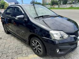 Toyota Etios  Platinum  1.5 2018 Falar com Nunes