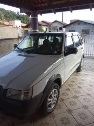 Vendo Uno Way com GNV Injetado com Ar condicionado - 2012