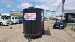 Reboque Trele food Truck Super Conservado