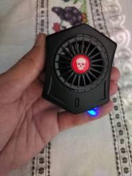 Cooler para resfriamento do celular.
