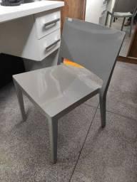 Cadeira Escritório Fixa Polipropileno Alta Qualidade