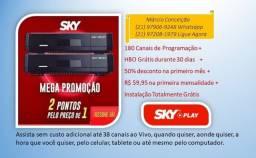 SKY Fun II SD - 2 Equipamentos !