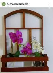 Floreiras em madeira