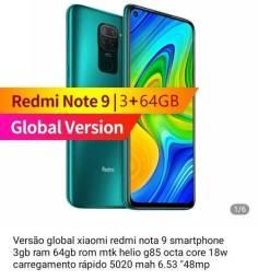 Xiaomi redimi note 9 3 gb ram 64 rom