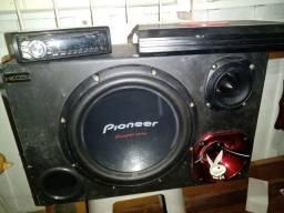 Caixa Trio, Rádio Pioneer Mix trax e Módulo