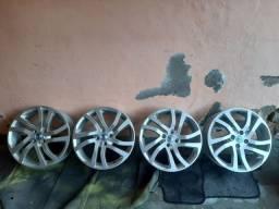Roda 17 BRW zero + pneus zero 215/45/17
