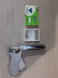 Pistola de vacina animal