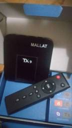 Tv Box completo na caixa