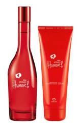 Conjunto Natura perfume + hidratante pronta entrega