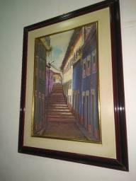 Quadro ( paissagem centro histórico )