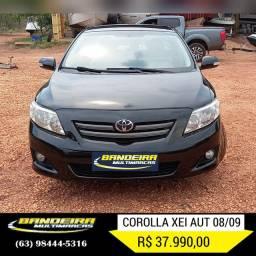 Corolla xei 08/09 aut R$ 37.990,00