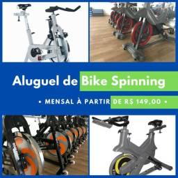 Bike Spinning + Plataforma com Aula de Spinning